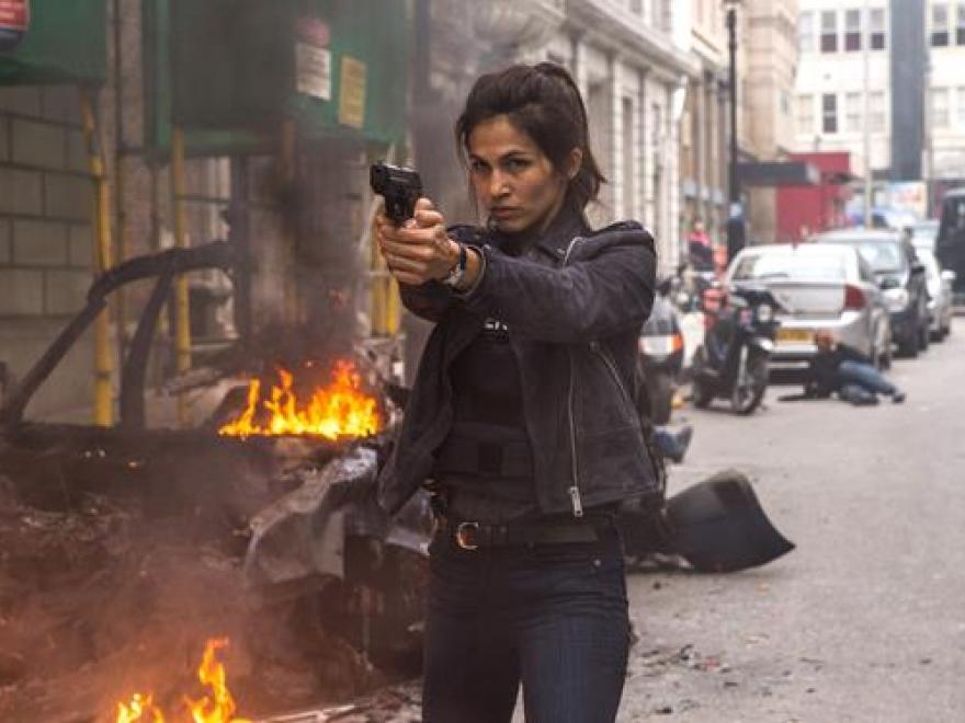 'The Hitman's Bodyguard': Những bông hồng tỏa sáng trong phim