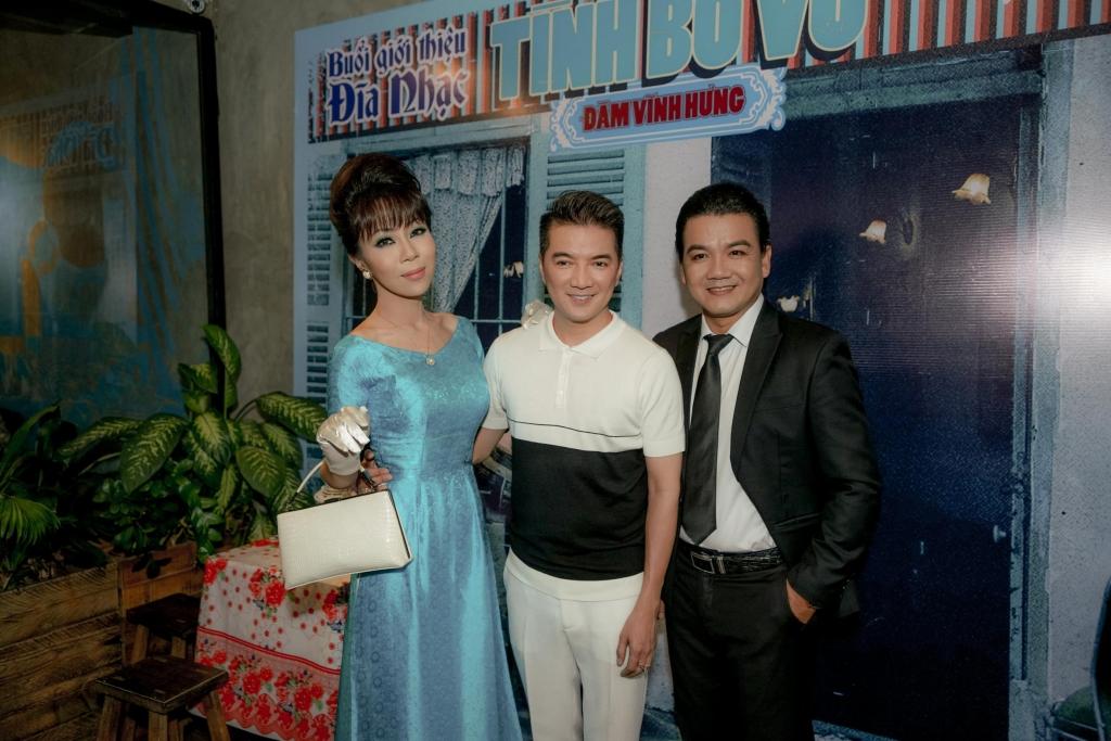 du chua phat hanh album moi cua dam vinh hung da duoc dat hon 7000 ban
