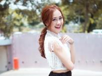 Không cần phụ kiện rườm rà, Hà Thuý Anh vẫn đẹp dịu dàng