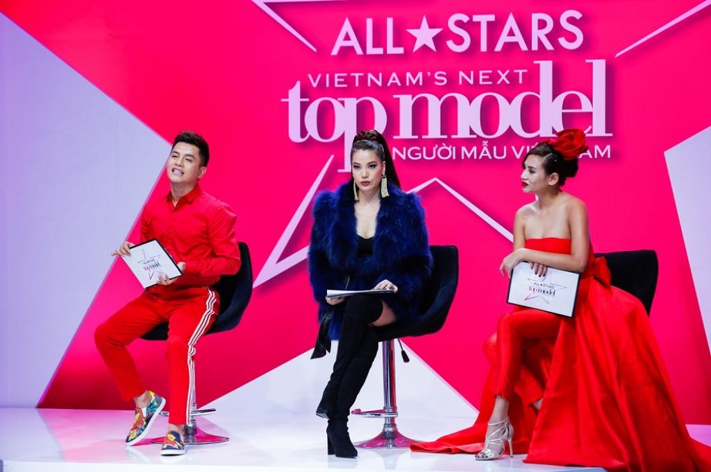 khong chi u thu c hie n thu tha ch nguye n ho p pha i du ng chan ta i vietnams next top model all stars 2017