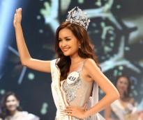 ngoc chau bat khoc khi dang quang miss supranational vietnam 2018