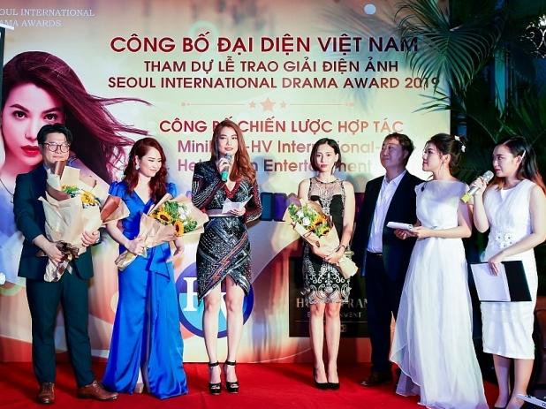 dien vien nxs truong ngoc anh tham du seoul international drama award 2019