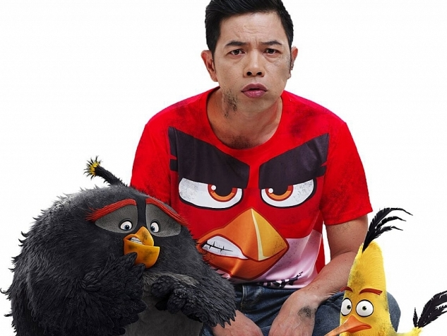 dien vien thai hoa tro lai voi red gian du trong angry birds 2