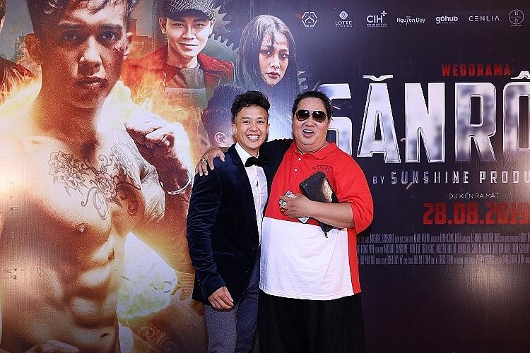 web drama san rong gioi thieu dan dien vien chinh