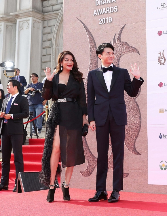 truong ngoc anh duoc vinh danh ngoi sao chau a tai seoul international drama awards 2019