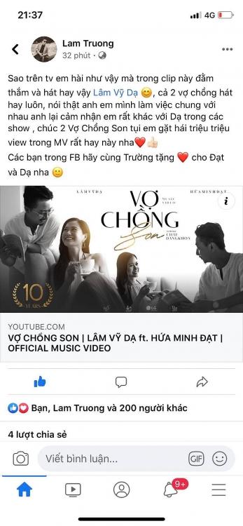 dam vinh hung lam truong va nhieu nghe si cung chia se vo chong son chuc mung hanh phuc 10 nam cua hua minh dat lam vy da