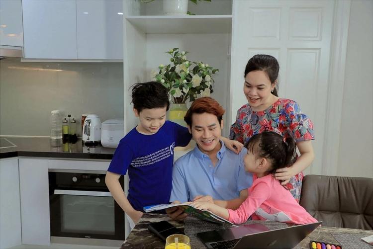 mc hong phuc va con trai thanh lap du an mo tim mien phi cho tre em ngheo
