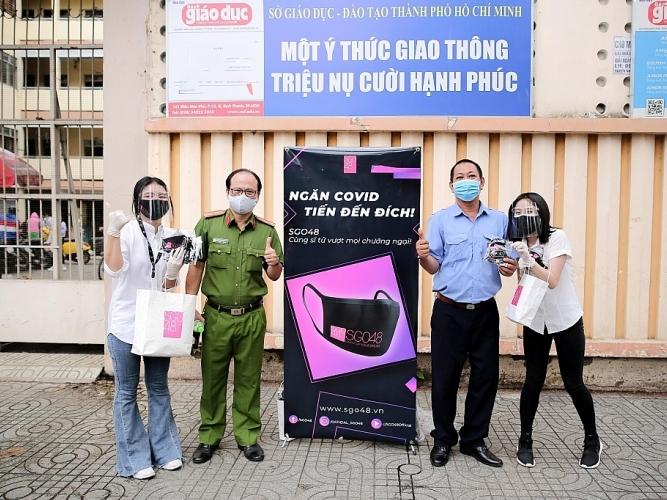 sgo48 chung tay vi cong dong phat 1000 khau trang mien phi cho si tu