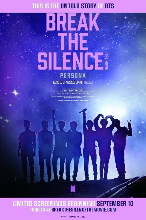 break the silence the movie cua bts gioi thieu poster chinh thuc se phat hanh vao thang 9