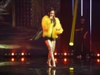 Á hậu Kiều Loan quyết tâm giành chiến thắng tại 'King Of Rap'