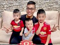 Kinh nghiệm nuôi dạy con cực hay của Hoàng Rapper - ông bố của 3 nhóc tì