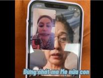 Minh Tú 'té ngửa' với những cuộc trò chuyện facetime hài hước cùng mẹ