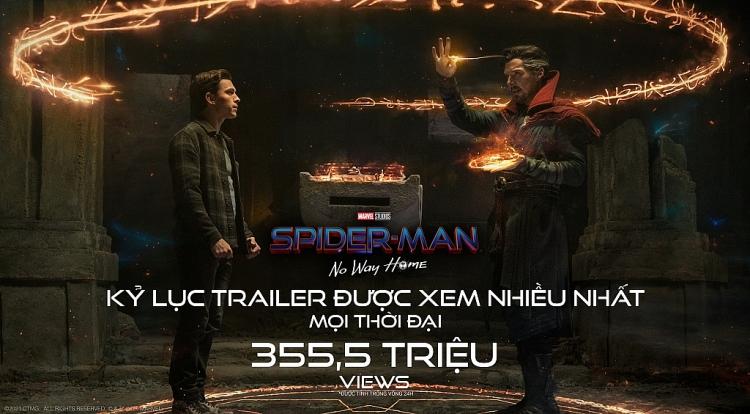 Teaser 'Spider-Man: No way home' phá kỷ lục lượt xem sau 24 giờ ra mắt