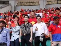 Thầy trò Ngọc Sơn – Michael Lang thưởng nóng 250 triệu cho đội tuyển Olympic Việt Nam