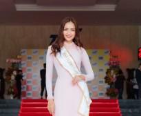 ngoc chau rang ro ve truong sau khi dang quang miss supranational vietnam 2018