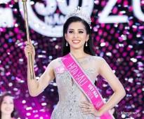Tân Hoa hậu Trần Tiểu Vy lộng lẫy trong thiết kế của NTK Anh Thư