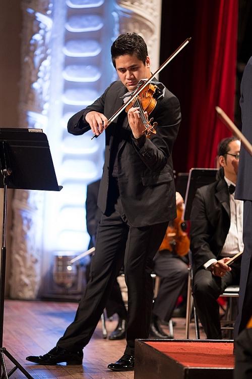 chuong trinh hoa nhac bui cong duy va ban concerto cho violin cua mendelssohn