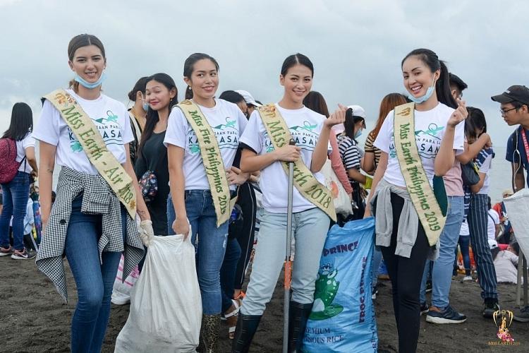 hoa hau phuong khanh don rac o philippines