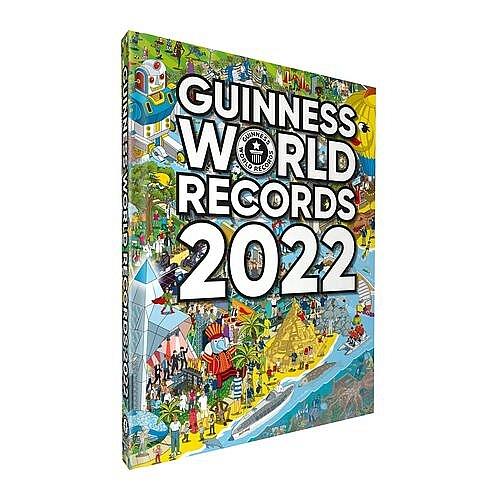 Nhà sách Phương Nam phát hành 'Guinness World Records 2022' cùng thời điểm với thế giới