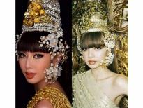 Nguyễn Thúc Thùy Tiên gây sốt khi hóa thân theo hình tượng 'công chúa Thái' đang gây bão của Lisa