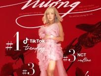 Hit của Văn Mai Hương 'làm mưa làm gió' tại các bảng xếp hạng nhạc số