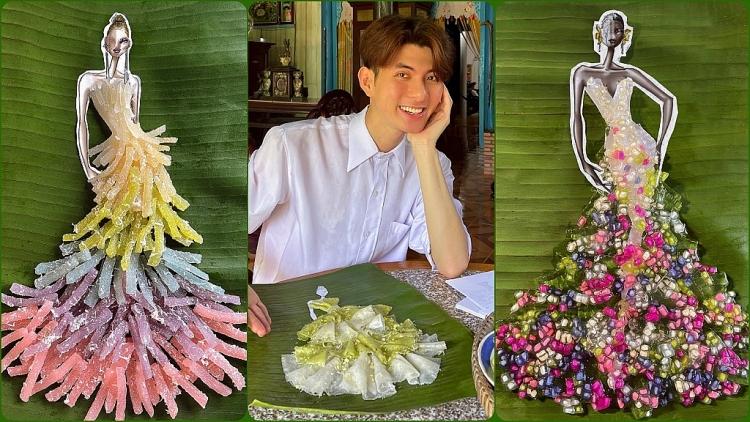 NTK Nguyễn Minh Công ra mắt BST từ các loại bánh dân gian