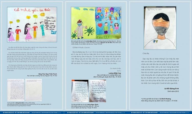 Xúc động với kết quả cuộc thi viết – vẽ tranh 'Con thương chiếc áo Blouse' tri ân đội ngũ y tế chống dịch Covid-19