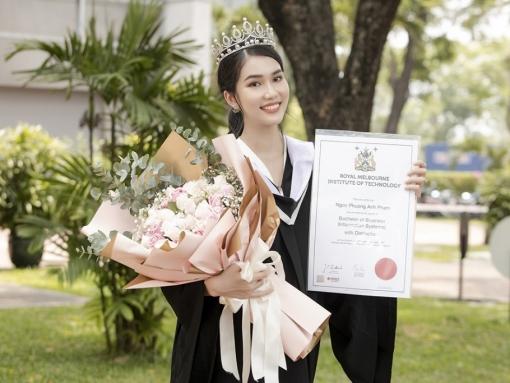 Phương Anh tiếp tục nâng tầm danh xưng 'Á hậu học giỏi' khi vinh dự được Đại học RMIT trao tặng học bổng Thạc sĩ