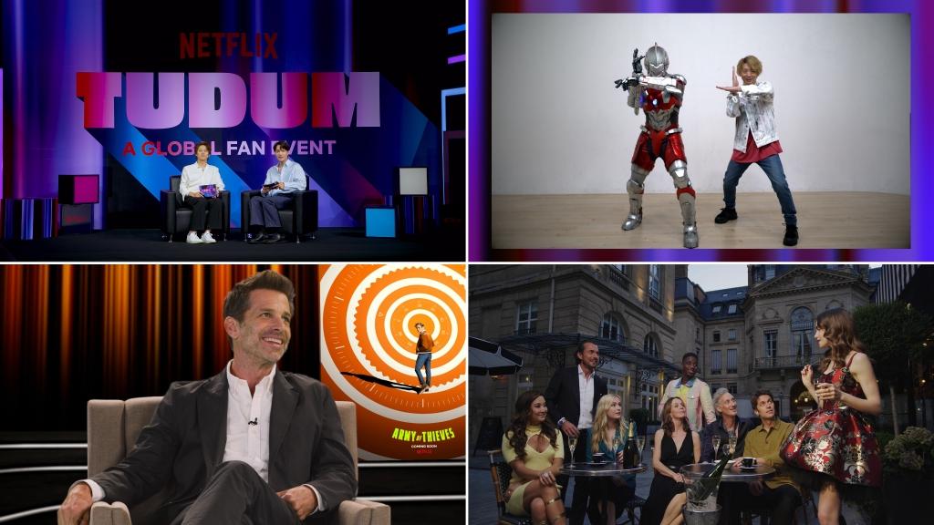 Có gì hấp dẫn từ 'Tudum' dành cho người hâm mộ Netflix?