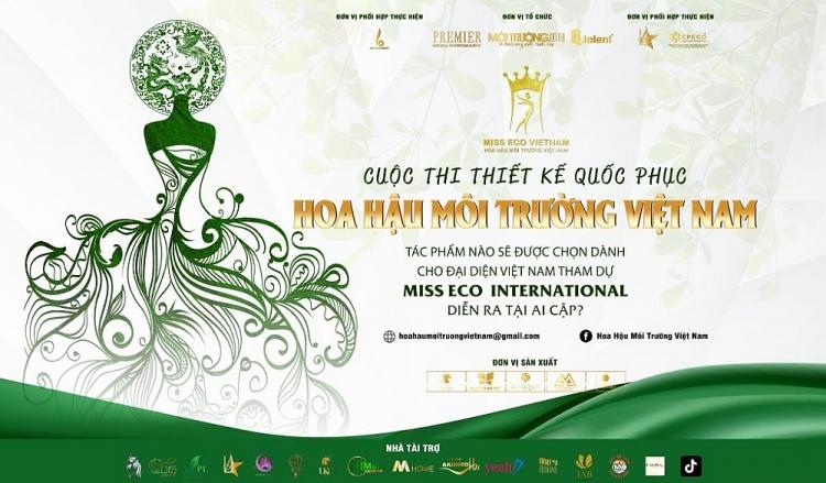 Khởi động cuộc thi 'Thiết kế quốc phục cho đại diện Việt Nam tham gia Miss Eco'