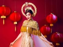 Á hậu Kim Nguyên đón Trung thu với bộ ảnh lồng đèn đỏ