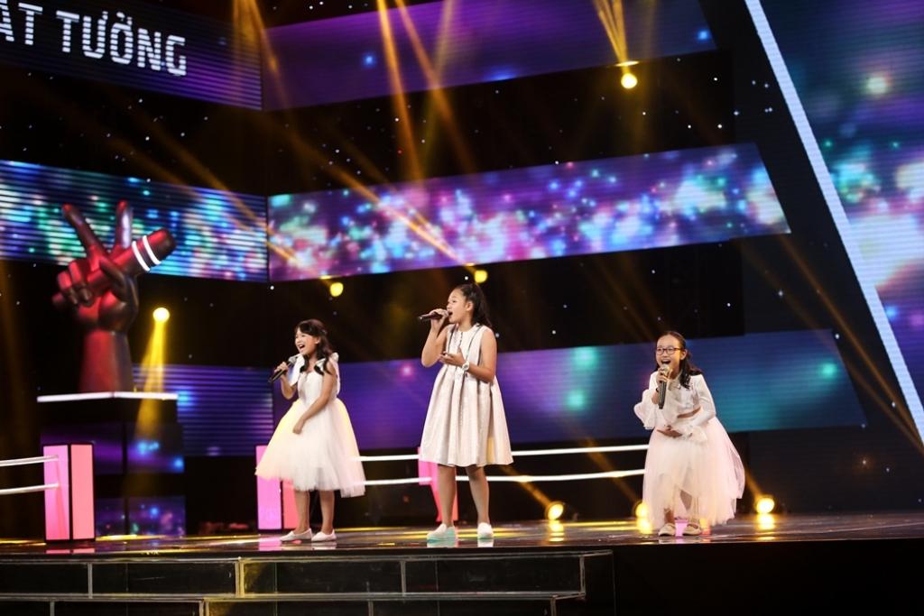 hit cua tung duong duoc lam moi cuc chat tren san khau the voice kids 2017