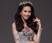 Hoa hậu Phan Thị Mơ hóa nàng tiên hoa trong thiết kế của Đan Hà