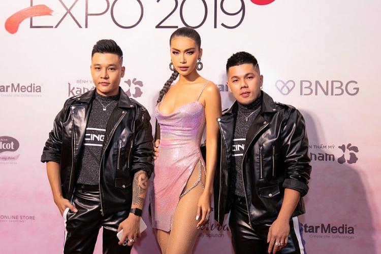 minh tu than thai ngut ngan du su kien beauty expo 2019