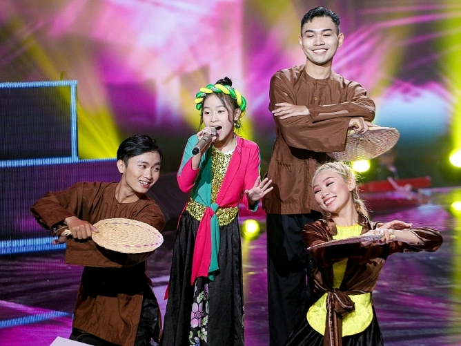 lo dien top 6 tai nang buoc vao ban ket the voice kids 2019