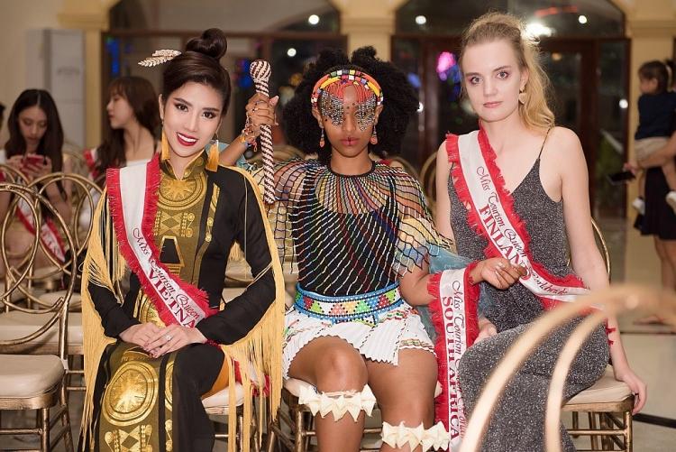 duong yen nhung xuat sac gianh giai a hau 2 phan thi tai nang tai miss tourism queen worldwide 2019