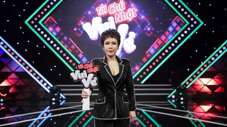 viet huong host show moi toi chu nhat vui ve
