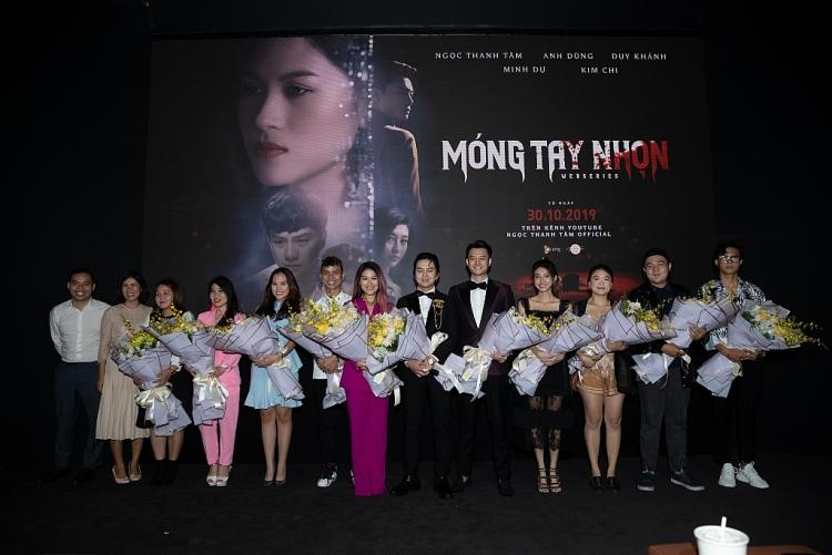 chon chu de ve showbiz day thi phi web drama mo ng tay nho n cua ngoc thanh tam huong toi su chuyen nghiep