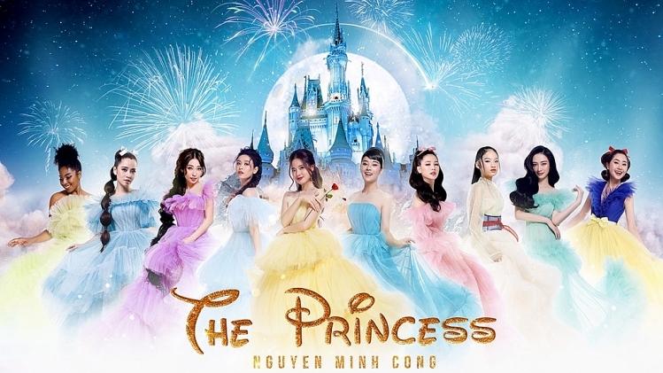 10 ngoc nu showbiz hoi tu trong poster va trailer show dien the princess cua nguyen minh cong