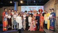 NTK Việt Hùng mang BST'Đêm nguồn cội'lên sân khấu 'Lễ hội áo dài TP.HCM 2020'