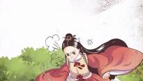 Hoàng đếLý Chiêu Hoàng trong moving toon 'Cánh hoa trôi giữa hoàng triều' khiến fan hết hồn