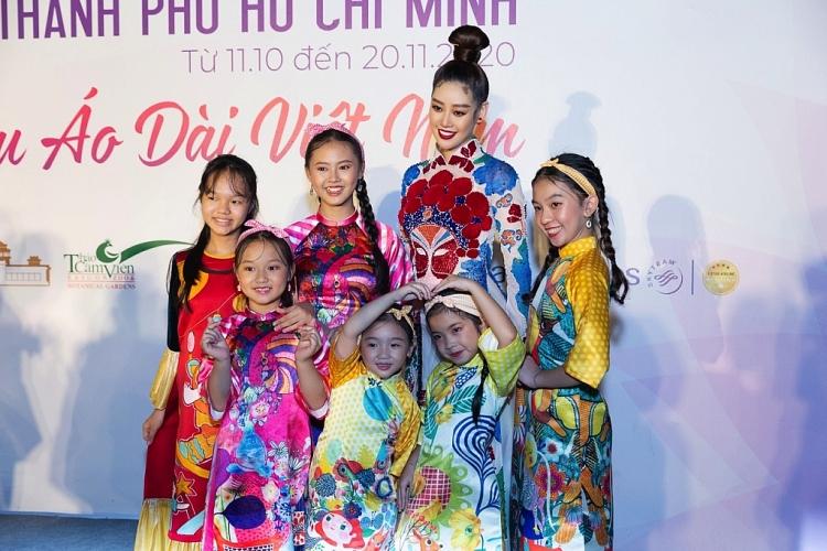 hoa hau khanh van trinh dien khai mac le hoi ao dai tphcm 2020