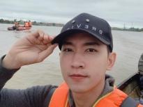 Minh Tú -Huỳnh Vy quyên góp tiền,Trà Ngọc Hằng -Võ Cảnh lặn lội về miền Trung cứu trợ đồng bào