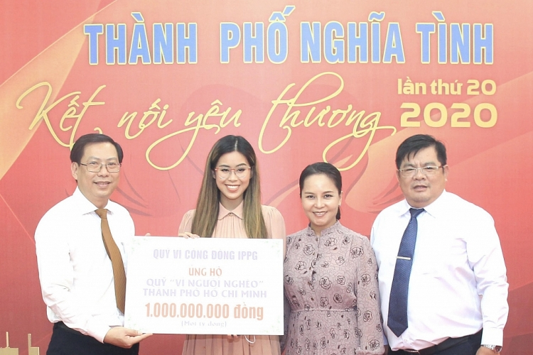 tien nguyen tiep tuc ung ho nguoi ngheo tphcm 1 ty dong