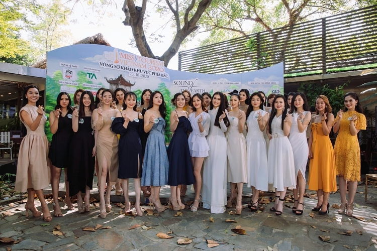 vong thi so tuyen phia bac miss tourism vietnam 2020