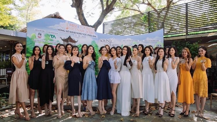 miss tourism vietnam 2020 90 thi sinh hoan tat ho so vong thi so tuyen khu vuc phia bac va cao nguyen