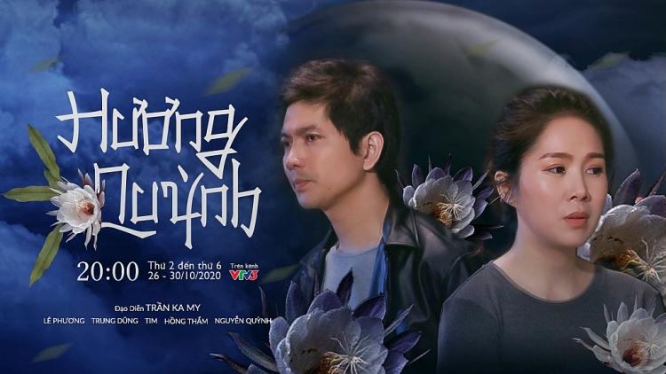 sau nghi van bau bi lan ba le phuong xuat hien tuoi tan tai phim truong huong quynh