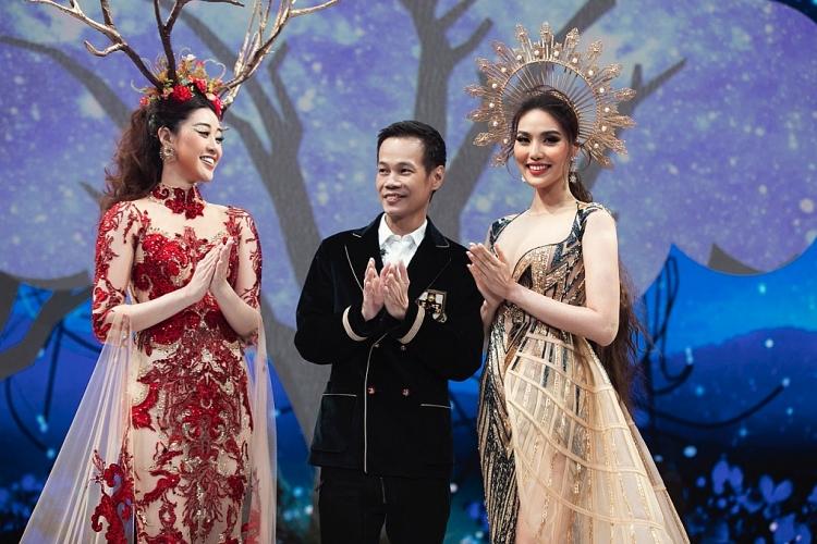 vietnam runway fashion week 2020 chi dai ha anh minh trieu lan khue than thai tren san catwalk