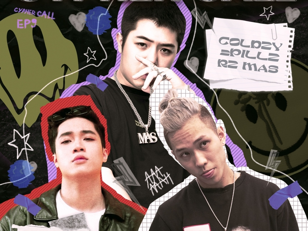 'Cypher Call': Cuộc hội ngộ bất ngờ của bộ 3 chàng trai tài năng 2pillz – Coldzy – RZ Mas