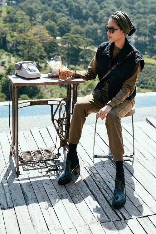 Trương Thị May hoài niệm về Đà Lạt bình yên bằng loạt ảnh cà phê chiều